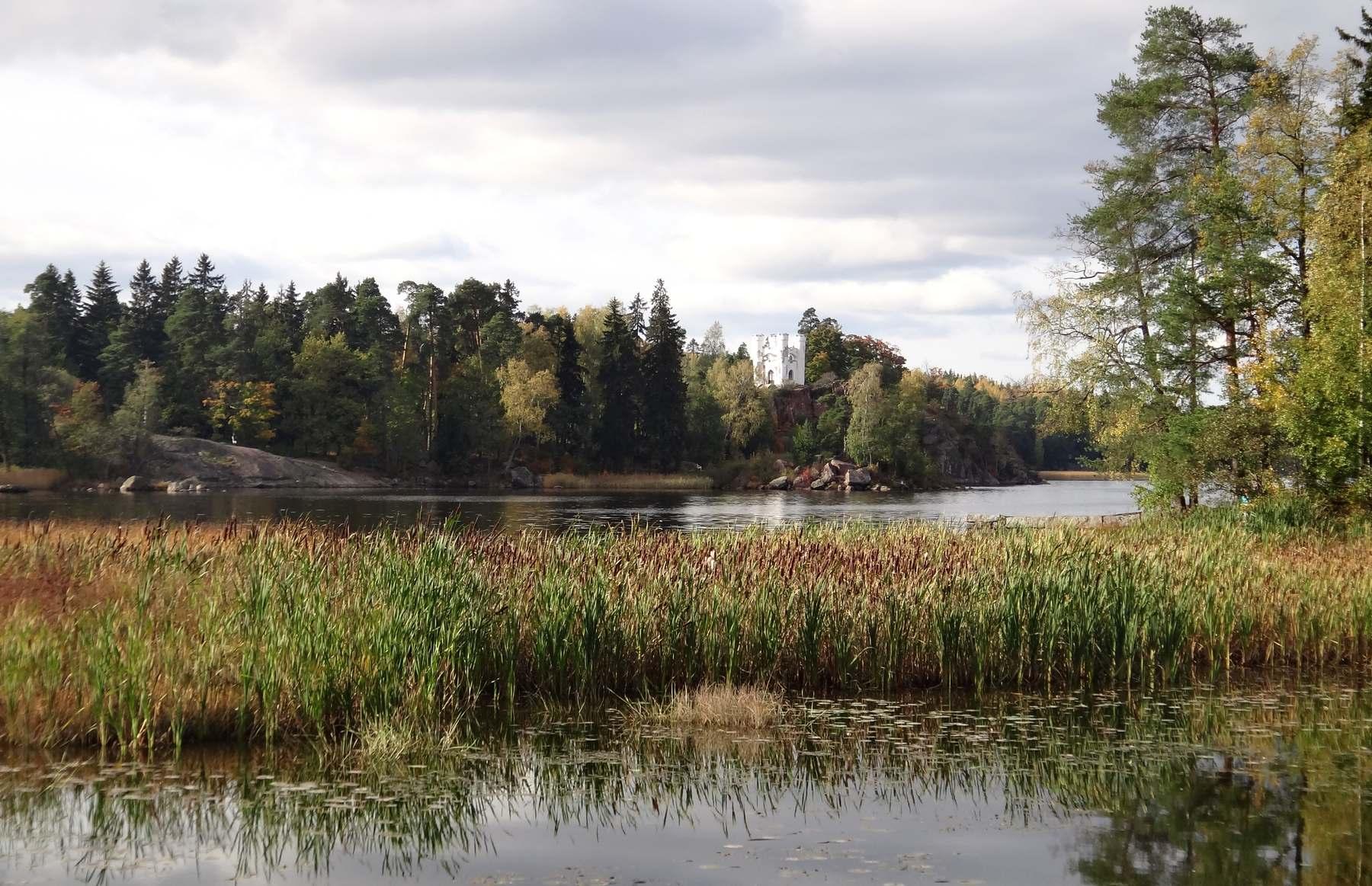 Выборгский залив в парке Монрепо