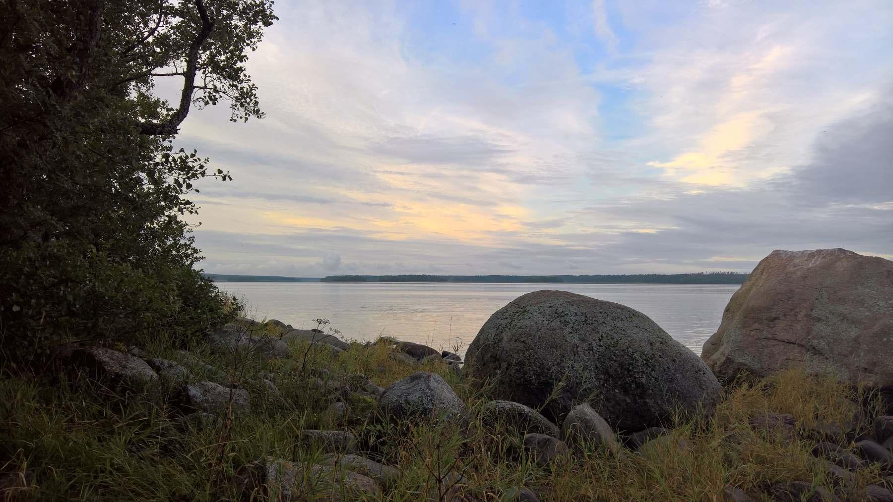 Выборгский залив возле поселка Ландышевка
